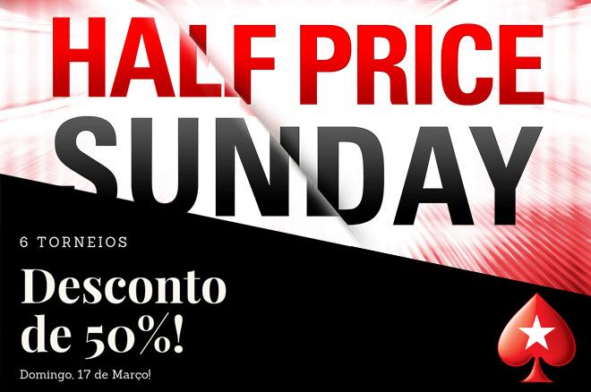 Half Price Sunday na PokerStars.pt