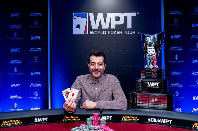 Erkut Yilmaz won the 2019 WPT Thunder Valley Main Event in his hometown of Sacramento.