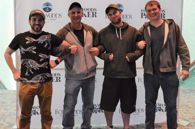 A deal in Foxwoods paid off handsomely for four players.