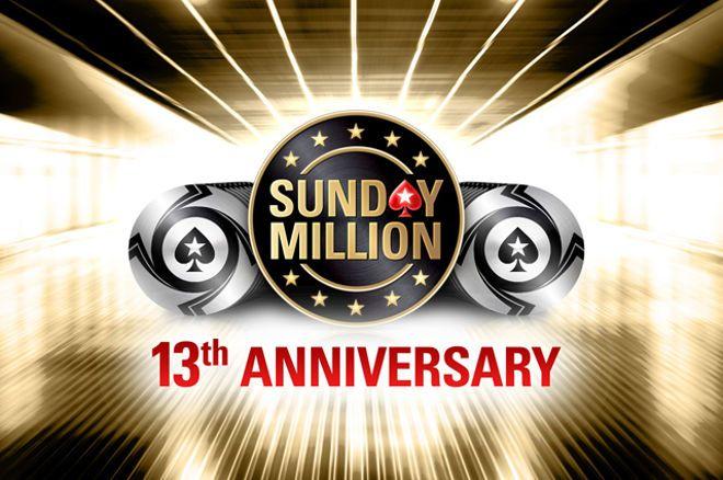 13º Aniversário do Sunday Million - $10 Milhões Garantidos!