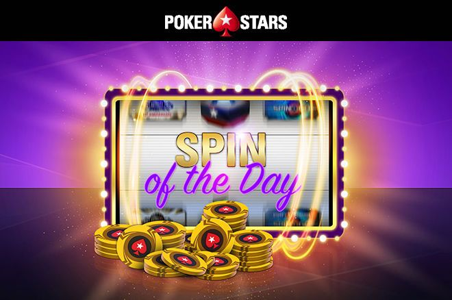 "Promoção ""Spin of the Day"" da PokerStars.pt"