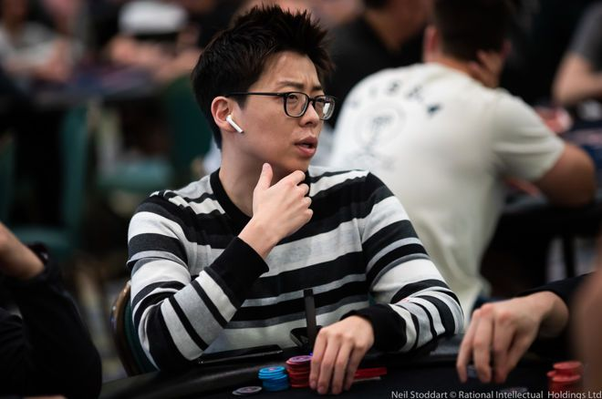 Joseph Cheong shipped the high roller during the Wynn Classic.
