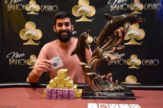 Sandeep Pulusani made a comeback heads up to win Bay 101 Shooting Star.