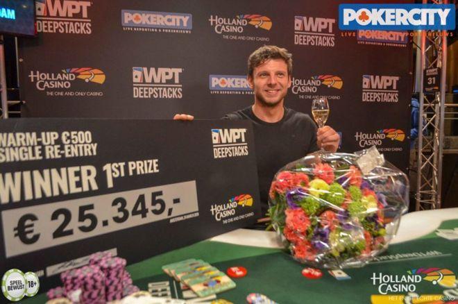 WPT DeepStacks Amsterdam - Jeff van den Heuvel wint de Warm-Up voor €25.345, Stegeman negende