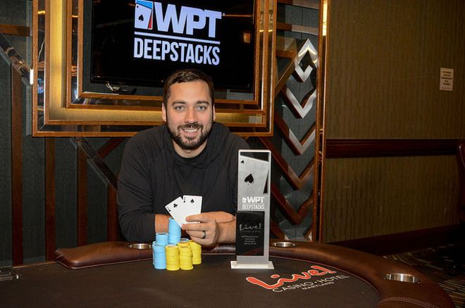 Justin Liberto wins the WPTDS Maryland.
