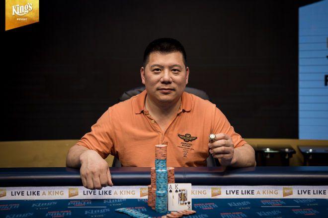 Zhong Chen Wins WSOP International Circuit King's Resort €5,300 High Roller