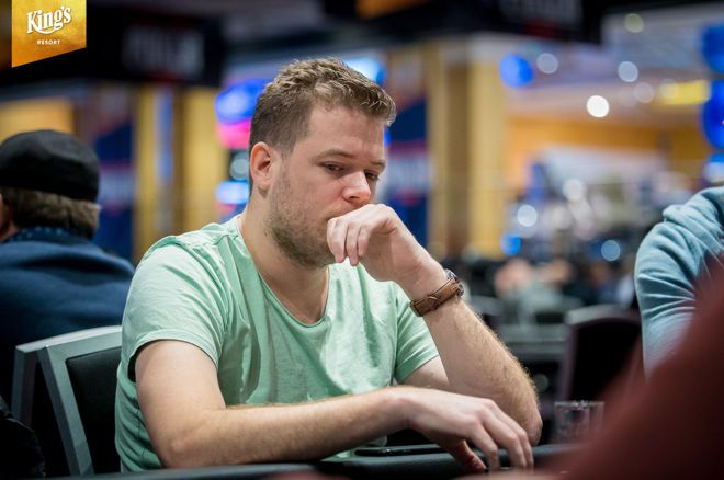 WPT DeepStacks Amsterdam - Paul Berende & Zeus Post met grote stacks naar Dag 2 van €1.200 Main Event