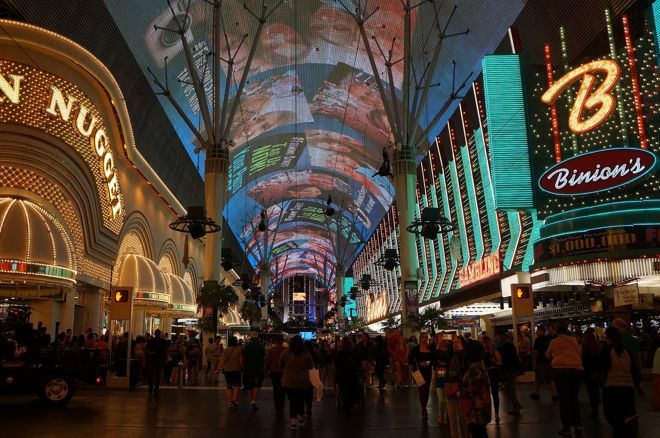 """The """"Fremont Street Experience"""" in Downtown Las Vegas"""