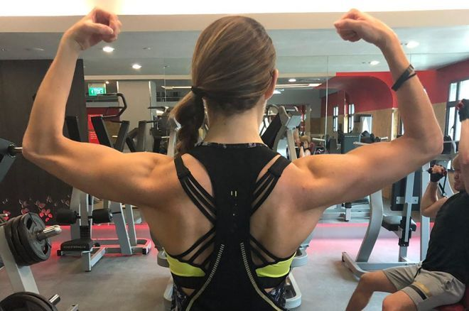 Sofia Lovgren Will Participate in the Spartan Obstacle Race in Singapore