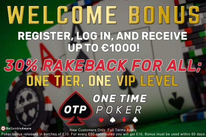 One Time Poker: OneTier VIP and MASSIVE Overlays!