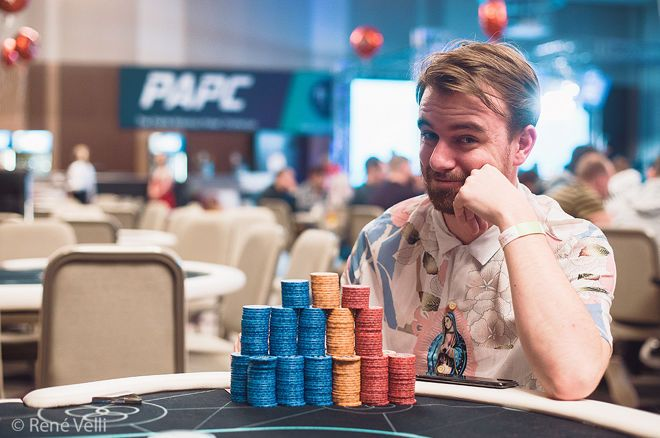 It was all about Joris Ruijs on Day 2 of the PAPC Main Event.