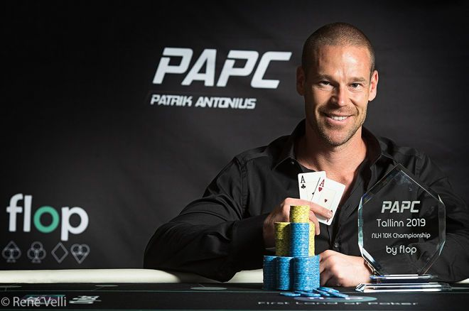 Patrik Antonius won a trophy at his inaugural namesake tour.