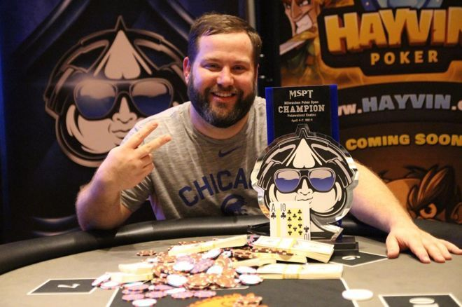 Dan Bekavac won his second MSPT title, six years after his first.