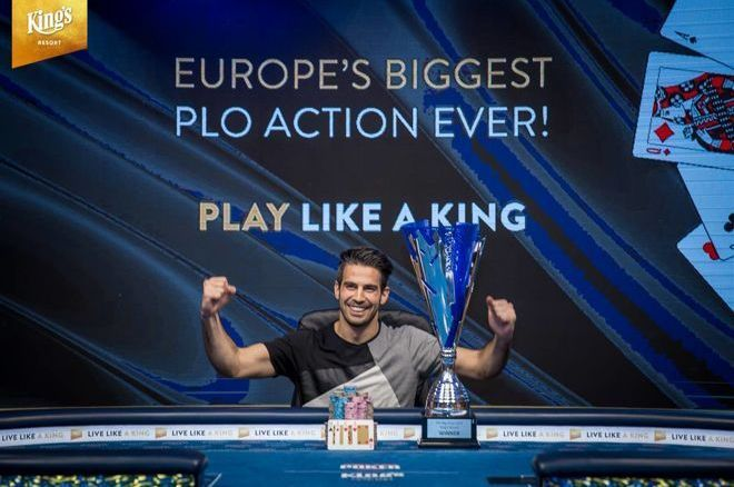 Lautaro Guerra, winner of The Big Wrap at King's Resort for €209,221