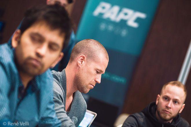 Patrik Antonius ran up a big stack in the PLO cash game.