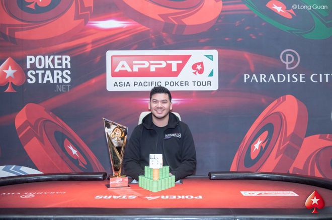 Michael Soyza wins the 2019 PokerStars APPT Korea Super High Roller
