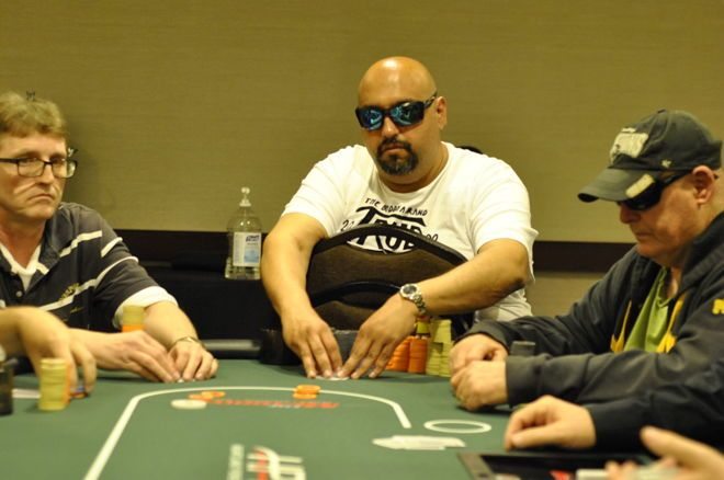 Stevens Bags Slight Lead Over Wagner on Day 1b of HPT The Meadows