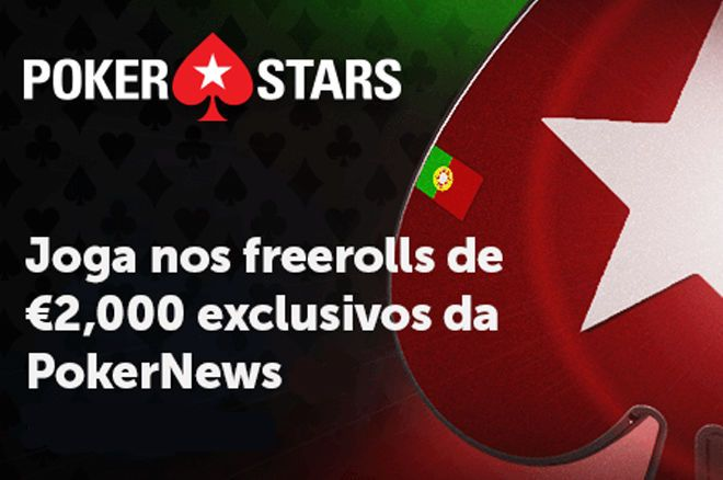 Freerolls Exclusivos da PokerNews de T€2.000 na PokerStars.FRESPT