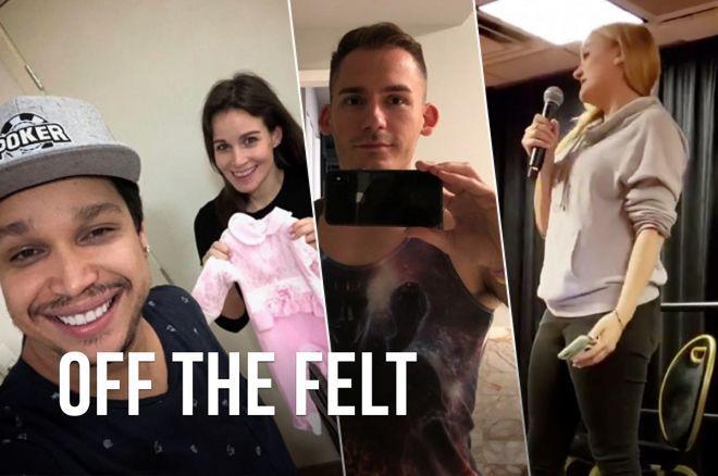 Off the Felt: Baby Girl for Natalie Hof and Felipe Mojave