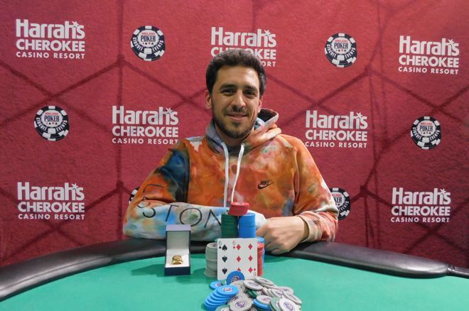 Jonas Wexler won over $300,000 and his second Circuit ring.