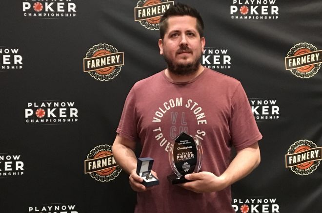 Mozden Marches to Event #1 Trophy of Spring PlayNow Poker Championship 0001