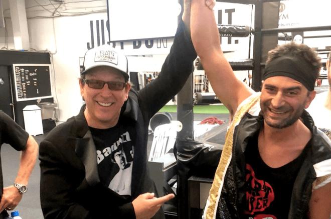 Kevin Hart and Antonio Esfandiari