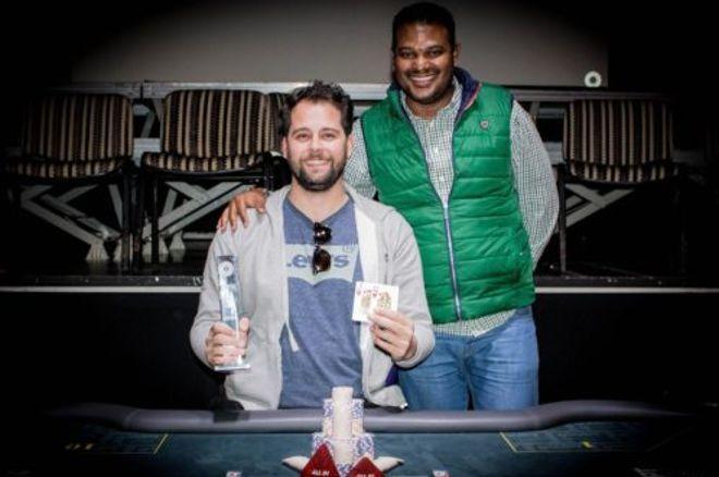 Manuel Coronado Campeão do Main Event do Solverde Poker Season