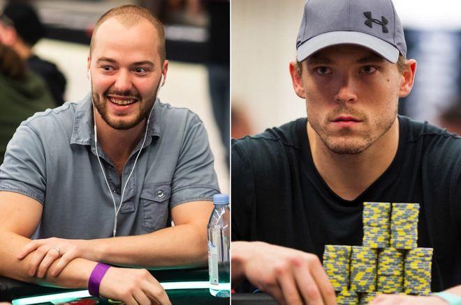 Sean Winter (left) and Alex Foxen (right)