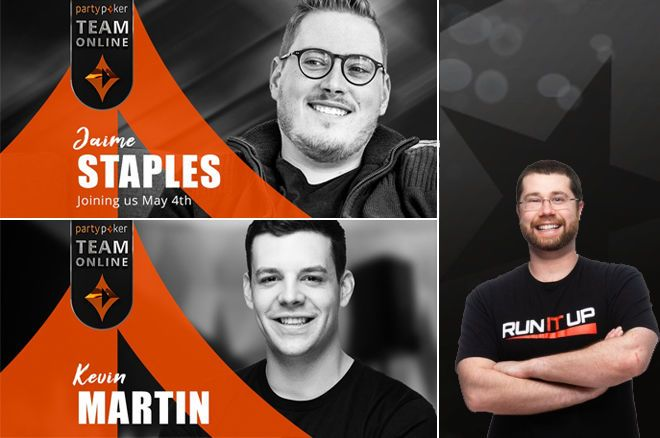 Kevin Martin, Jaime Staples e Arlie Shaban