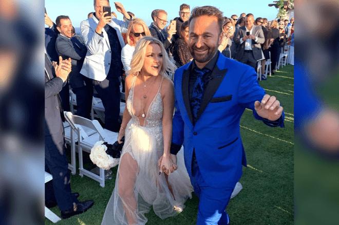 Poker superstar Daniel Negreanu is a married man now.