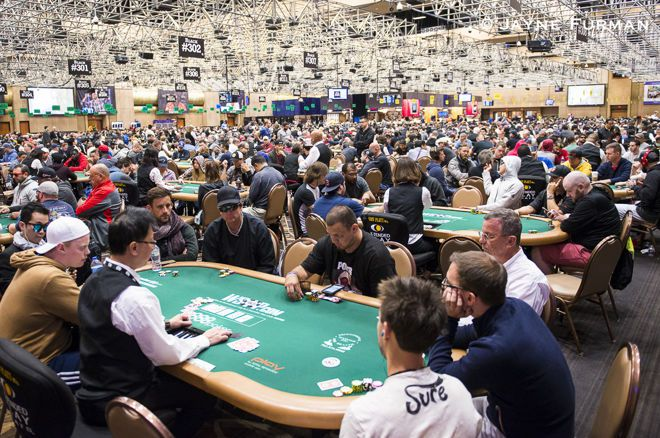 How *Not* to Stay Fit at the WSOP