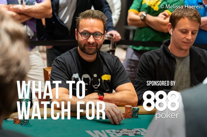Daniel Negreanu looking for bracelet number seven