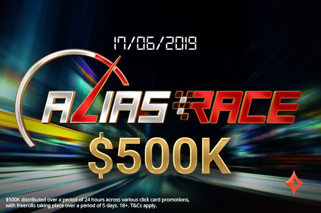 partypoker $500,000 Alias Race