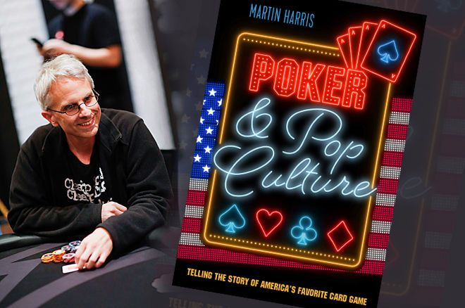 Martin Harris' book 'Poker and Pop Culture' is now available for purchase.