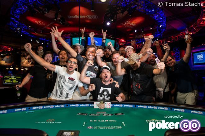 Murilo Souza's first WSOP cash was a big one as he won the $1,500 H.O.R.S.E.