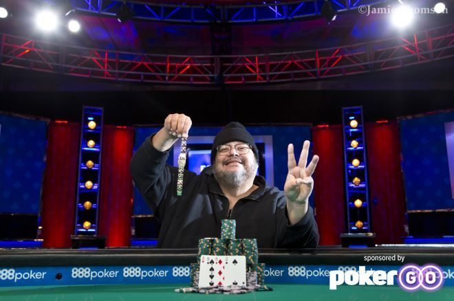 Frankie O'Dell Wins His Third WSOP Omaha Hi-Lo in $10K Championship Event