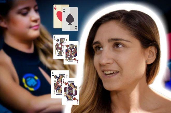 Ana Marquez Analyzes 3-Way All-In Hand With Sofia Lövgren