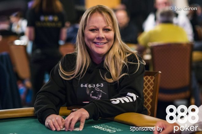 Shirley Rosario is repping her female heroes at the 2019 WSOP.