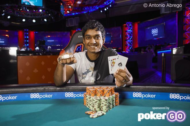 Upeshka 'gomezhamburg' De Silva Wins His Third Bracelet in WSOP Online Event