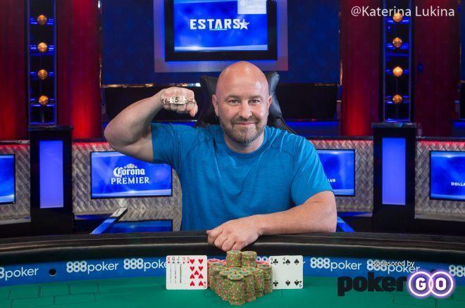 David Lambard Claims First WSOP Bracelet in Event #36: $3,000 NLH