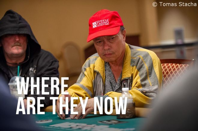 An Tran makes a yearly trip to the WSOP from his home country of Vietnam.
