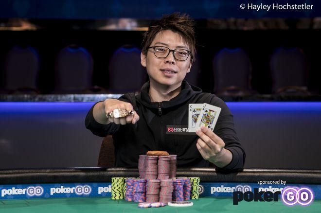 Vegas vet Joseph Cheong got his first piece of WSOP after almost 40 cashes.