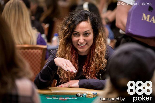 Survivor contestant Shirin Oskooi is enjoying her foray into poker.