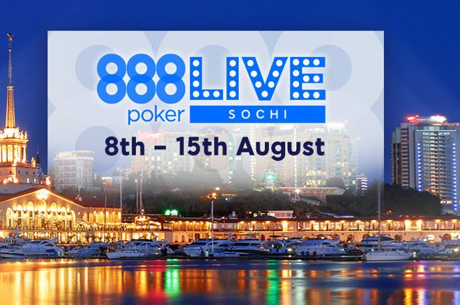 Head to the Russian Riviera for 888poker LIVE Sochi for Just $0.01 0001