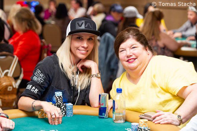 Starr Valdez and Denise Pratt