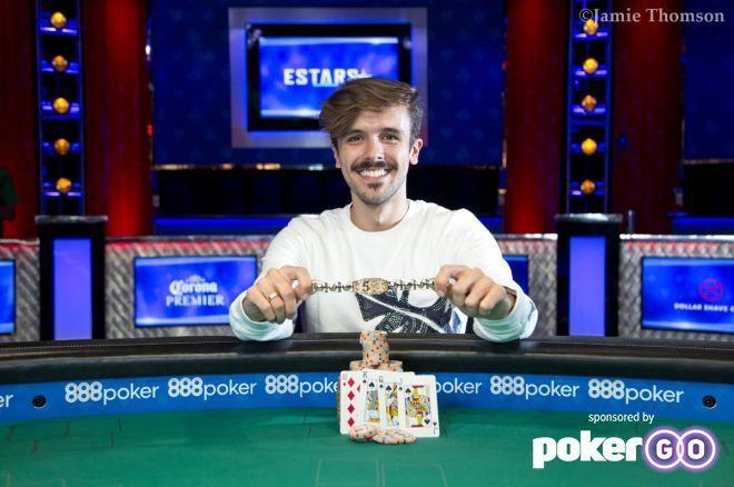 Brazil's Yuri Martins Dzivielevski Captures First Bracelet and $213,750!