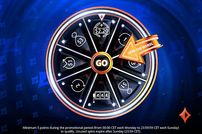 partypoker Spin the Wheel