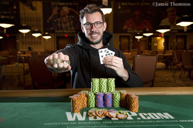 Online Crusher Jonas Lauck Secures First WSOP Bracelet and $260,335 in $1,500 Turbo Bounty