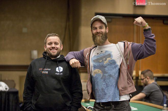 2019 WSOP (27) - Team Hallaert & Van Zadelhoff tweede in chips bij laatste 35, Ivey leidt $50k PPC
