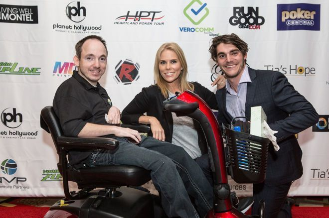 """""""Raising the Stakes for CP"""" Celebrity Charity Poker Tournament"""